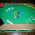 ABC school cake